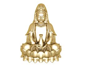 Buddha is peaceful 3D printable model