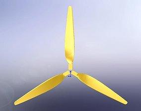 3D 2 m Wind Blade