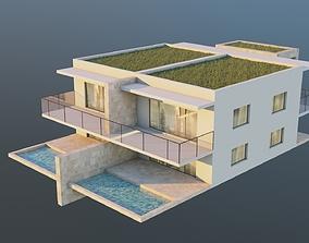 3D asset Small House 01