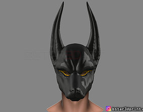 3D print model Anubis - Anpu - ancient Egyptian god Mask 3
