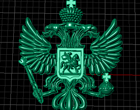 High Quality Eagle Shaped Imperial 3d model