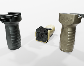 Larue Tactical FUG Forward Universal Grip 3D asset