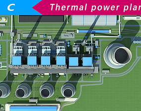 3D model power plant