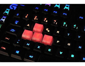 Romer G key cap 3D print model