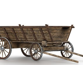 CARRIAGE 3D model game-ready