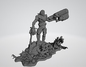 3D print model Doom Slayer