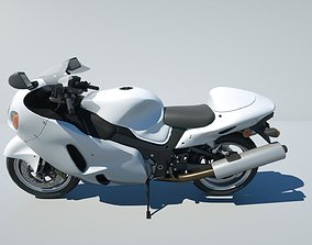 3D model Hayabusa Suzuki GSX-1300R