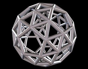 037 Mathart - Archimedean Solids - Snub 3D print model 4