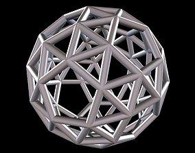 037 Mathart - Archimedean Solids - Snub 3D print model 4