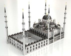 Sultanahmet Mosque 3D model