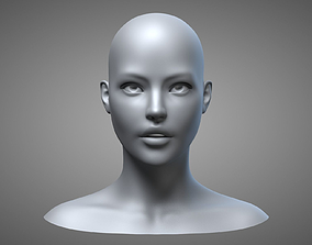 Female Head 3 3D model