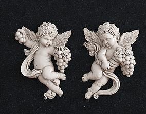 Angel children 3D printable model