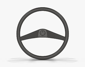 3D model Mercedes-Benz MB 100 Steering Wheel
