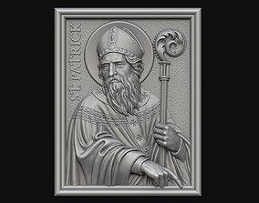Saint Patrick Medallion 3D print model