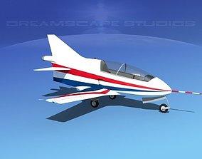 Bede BD-5J Microjet V06 3D model