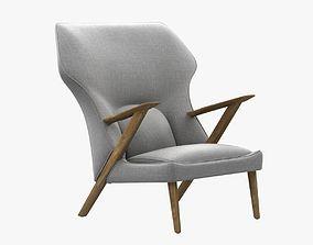 3D model Control Veendam Lounge Chair