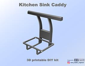 3D printable model Kitchen Sink Caddy - Sink Organizer - 3
