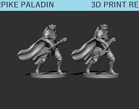 3D print model Warpike Paladin Miniature