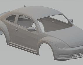 Volkswagen Beetle Turbo 2012 Printable Body Car