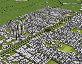 3D model Karachi City