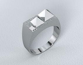 3D printable model Ring Pyramids