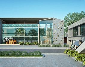 3D model TB Office building