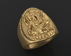 Elephant ring 3D print model
