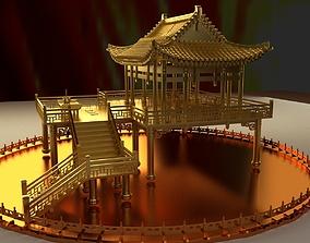 Chinese ancient Pavilion 3D model