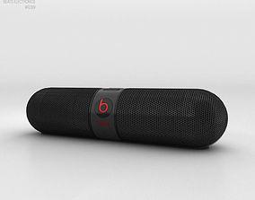 3D model Beats Pill 2-0 Wireless Speaker Black