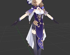 Leisa 3D model