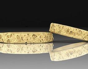 3D print model Couple Rings Moon