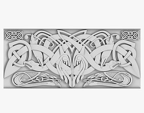 interior Celtic Ornament 3D model