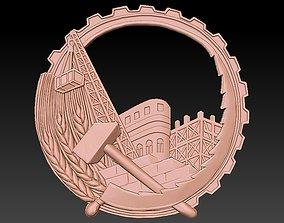 Badge Building 3D printable model