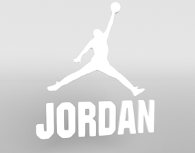 3D model Jordan Logo version3 002