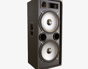 PA Speaker 3D asset