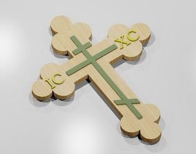 Orthodox Cross 3D printable model