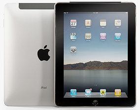 Apple iPad 16Gb tablet 3D asset