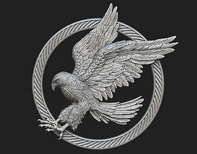 Hawk Pendant 3D printable model