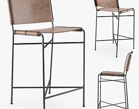 3D model Four Hands WHARTON bar stool