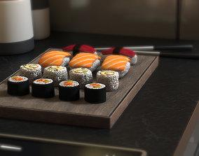 3D asset Sushis