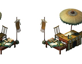 Game Model - fortune-telling stall