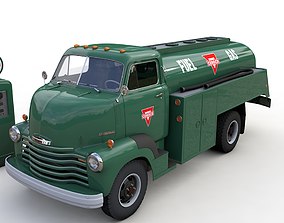 CHEVY 6400 FUEL TRUCK 1949 3D model