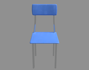 CHAIR 3D model realtime modern