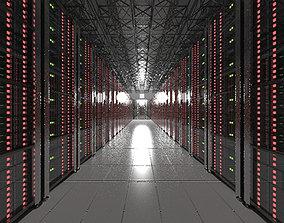 modern 3D model Server