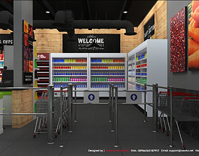 Supermarket 3D Interior Design