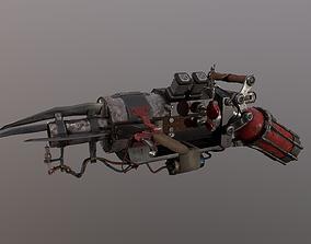 Post Apocalyptic Flamethrower 3D model