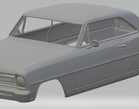 Chevrolet Nova II 1966 Printable Body car