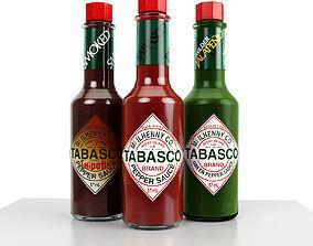 3D model Tabasco
