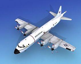 Lockheed P-3 Orion US Navy 3 Hp 3D model