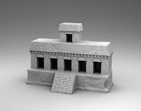 Build of Maya 3D print model